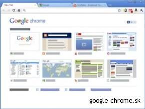 Google Chrome - webový prehliadač (2)
